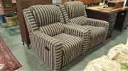 Sale 8404 - Lot 1082 - Pair of Reclining Armchairs