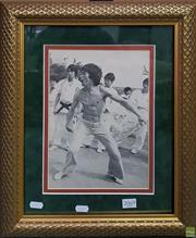 Sale 8600 - Lot 2069 - Bruce Lee, Signed Print