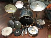 Sale 8648A - Lot 64 - Pearl Part Drum Kit