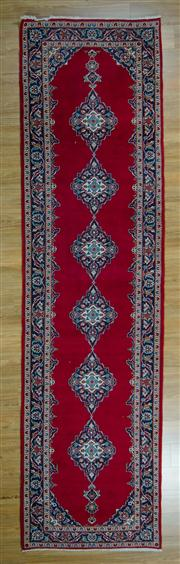 Sale 8657C - Lot 72 - Persian Kashan Runner 380cm x 104cm