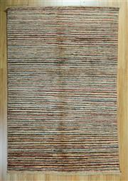 Sale 8672C - Lot 50 - Afghan Chobi Stripe 147cm x 96cm
