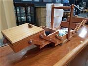 Sale 8724 - Lot 1028 - Timber Concertina Sewing Box