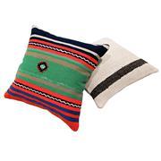 Sale 8761C - Lot 13 - A Pair of Vintage Turkish Kilim Cushions, Wool, 50x50cm, RRP $350