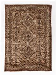 Sale 8780C - Lot 287 - A Persian Turkaman, Wool On Cotton Foundation Classed As Tribal Rugs, 235 x 165cm
