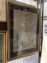 Sale 8789 - Lot 2063 - Norman Lindsay, Decorative Print