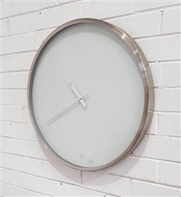 Sale 9137 - Lot 1048 - Modern wall clock (d:60cm)