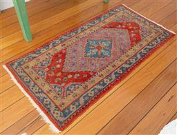 Sale 9191H - Lot 86 - Handwoven Persian Carpet, 68 x 140 cm