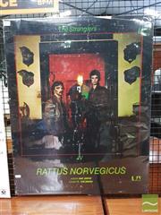 Sale 8421 - Lot 1052 - Vintage and Original The Stranglers Rattus Norvegicus Album Promotional Poster (75cm x 60cm)