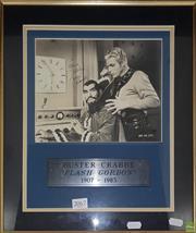 Sale 8600 - Lot 2067 - Buster Grabbe Flash Gordon, Signed Print