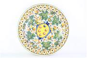 Sale 8844O - Lot 574 - Italian Handpainted Charger of Significant Proportions (diameter - 49cm)
