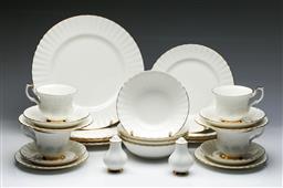 Sale 9093 - Lot 42 - Royal Albert Val Dor Tea Service for Four