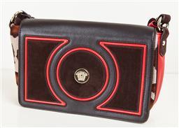 Sale 9120K - Lot 67 - A Gianni Versace Pelle leather leopard print shoulder bag, with dust bag