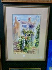 Sale 8582 - Lot 2031 - Jenny MacNaughton - Elegant Times 52.5 x 35cm (image), 75 x 57cm (frame)