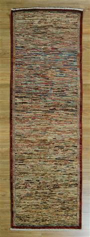 Sale 8657C - Lot 74 - Afghan Chobi Stripe 229cm x 74cm