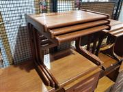 Sale 8705 - Lot 1035 - Danish Teak Nest of Tables