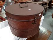 Sale 8717 - Lot 1079 - Metal Hat Box