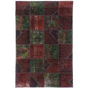 Sale 8761C - Lot 14 - A Vintage Turkish Patchwork Carpet, Hand-knotted Wool, 321x213cm, RRP $5,150