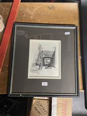 Sale 8981 - Lot 2091 - Fredric B Schell - Argyle Cut Sydney, engraving, 17x14cm
