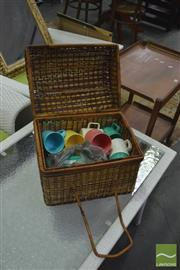 Sale 8398 - Lot 1082 - Picnic Basket