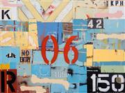 Sale 8420 - Lot 561 - Michael Jeffery (1965 - ) - Shackle 120 x 160cm