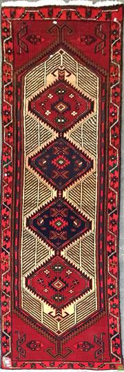 Sale 8601 - Lot 1168 - Persian Shiraz Runner (303 x 87cm)