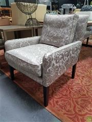 Sale 8637 - Lot 1043 - Modern Upholstered Armchair