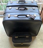 Sale 8510A - Lot 99 - A quantity of four vintage Paclite suitcases,