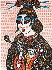 Sale 8853A - Lot 5018 - Yosi Messiah (1964 - ) - Burning Desire 102 x 76cm