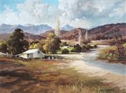 Sale 9047 - Lot 600 - John Sindelar (1941 - 2012) - Summer in Tweed Valley 44 x 59 cm (frame: 64 x 80 x 4 cm)