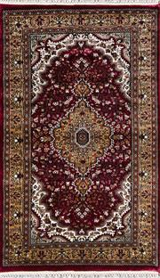 Sale 8370C - Lot 22 - Kashmiri Silk 160cm x 95cm