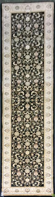Sale 8601 - Lot 1151 - Turkish Kashan Runner (300 x 80cm)