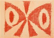Sale 8665 - Lot 508 - Charles Blackman (1928 - 2018) - Delta 12 x 17.5cm (frame: 54 x 58cm)