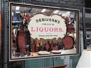 Sale 8684 - Lot 1078 - Demijohns Liquors Advertising Mirror
