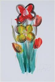 Sale 8821A - Lot 5040 - Kevin Charles (Pro) Hart (1928 - 2006) - Floral Study 29 x 20cm