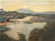 Sale 8929 - Lot 589 - John Downton (1939 - ) - Kalgan River, Stirling Range, W.A 44.5 x 59.5 cm