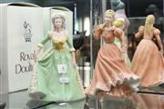 Sale 8360 - Lot 4 - Wedgwood Cinderella Together with a Franklin Mint Marie Antoinette Figure