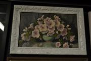 Sale 8449 - Lot 2091 - Olive McAleer - Still Life (Flowers in Jade Jar) 30 x 50cm