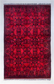Sale 8499C - Lot 91 - Afghan Khal Mohamadi 200cm x 125cm