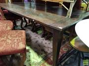 Sale 8523 - Lot 1080 - Timber Dining Table