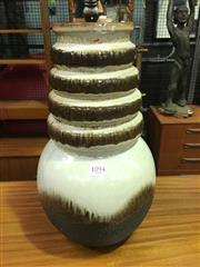 Sale 8643 - Lot 1094 - West German Drip-Glaze Vase, no.269-40 (H: 50cm)