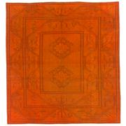 Sale 8761C - Lot 17 - A Vintage Turkish Milas Overdye, Hand-knotted Wool, 265x240cm, RRP $2,800
