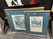 Sale 8888 - Lot 2072 - Pair of Framed Prints