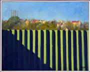 Sale 8325 - Lot 504 - Charles Cooper (1952 - ) - Pyrmont Powerstation with Jet, 1981 58.5 x 74cm