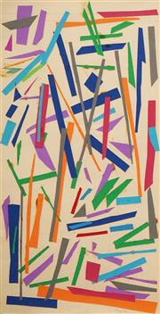 Sale 8597 - Lot 511 - Jon Plapp (1938 - 2006) - Untitled, no.9 1981 58 x 29cm