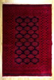 Sale 8657C - Lot 77 - Afghan Qunduzi 190cm x 128cm