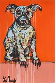 Sale 8968A - Lot 5054 - Yosi Messiah (1964 - ) - Baby Dog 91 x 61 cm (total: 91 x 61 x 4 cm)