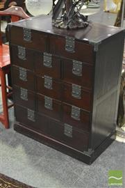 Sale 8284 - Lot 1018 - Chinese 13 Drawer Cabinet