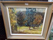 Sale 8437 - Lot 2029 - Claudia Forbes-Woodgate (1925 - 2008) - Burradoo Sketch 24 x 30cm