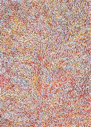 Sale 8526 - Lot 577 - Lynette Corby Nungurrayi (1958 -) - Tree Roots 130 x 93cm