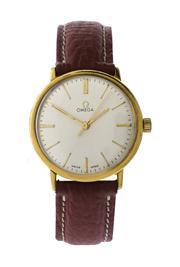 Sale 8618A - Lot 13 - An Omega men's wristwatch;